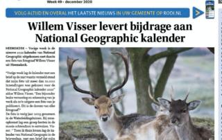National Geographic Willem Visser